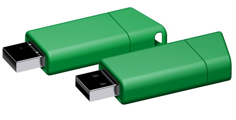 USB stick Flow 3.0 groen 64GB