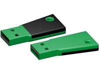USB stick Flag 3.0 groen-zwart 64GB