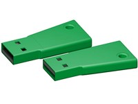 USB stick Flag 2.0 groen 2GB