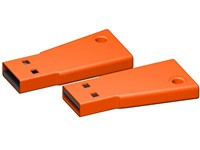USB stick Flag 3.0 oranje 8GB