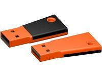 USB stick Flag 2.0 oranje-zwart 512MB