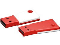 USB stick Flag 2.0 wit-rood 512MB