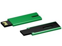USB stick Skim 2.0 groen-zwart 4GB