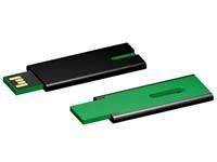 USB stick Skim 2.0 zwart-groen 8GB