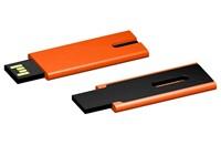 USB stick Skim 2.0 oranje-zwart 64GB