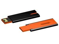 USB stick Skim 2.0 zwart-oranje 32GB