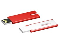 USB stick Skim 2.0 rood-wit 16GB