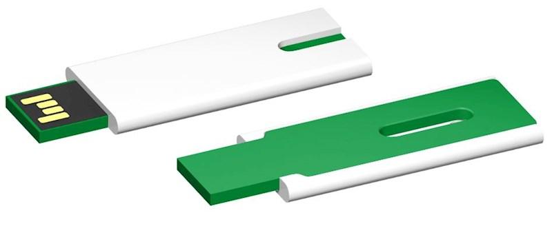USB stick Skim 2.0 wit-groen 64GB