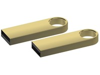 USB stick Bullet 2.0 goud 4GB