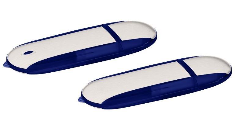 USB stick Stone 2.0 blauw 4GB