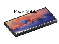 Powerbank Shield zwart 5000 mAh