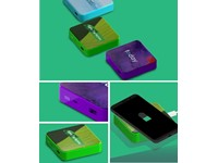 Draadloze oplader-powerbank Layer Led 10000 mAh-7.5-10W