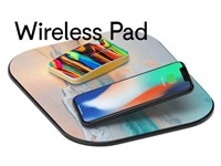 Mousepad met draadloze oplader 5W