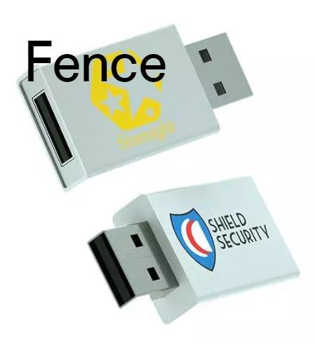 USB data blocker Fence wit