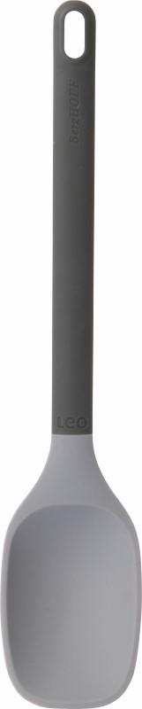 Leo Line serveerlepel grijs