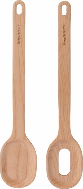 Leo Line serveerset hout