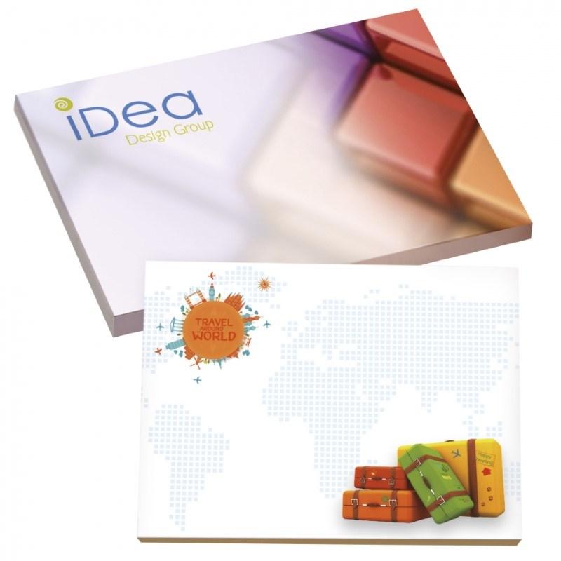 BIC® 101 mm x 75 mm notitieboekje met 25 vel zelfklevende memoblaadjes Ecolutions®