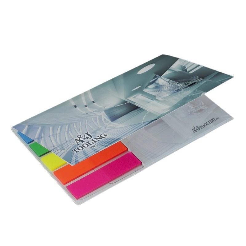 BIC® 75 mm x 75 mm notitieboekje met zelfklevende vellen en notitieblaadjes