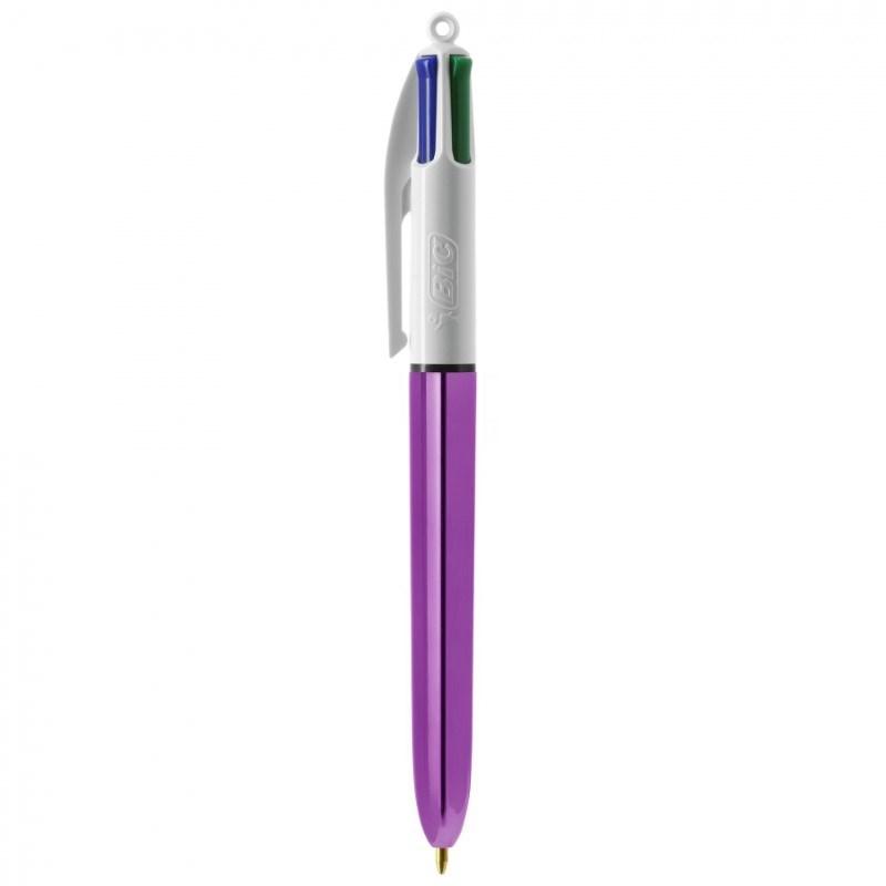 BIC® 4 Colours Shine balpen