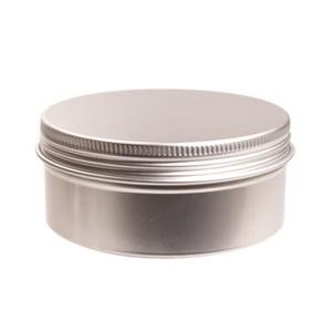 Aluminium blik met schroefdeksel