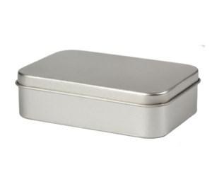 Pillendoosje zilver