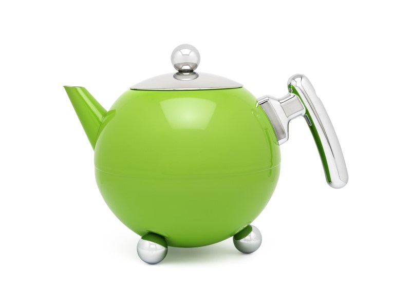 Theepot Duet® Bella Ronde 1,2L, Apple Green