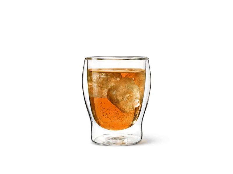 Dubbelwandig drinkglas, 35 cl, 2 stuks