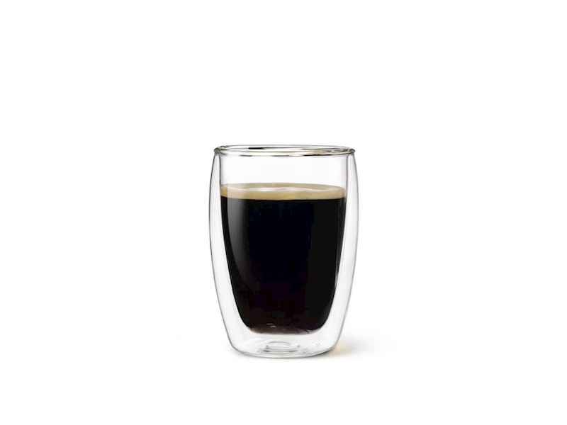 Dubbelwandig drinkglas, 27 cl, 2 stuks