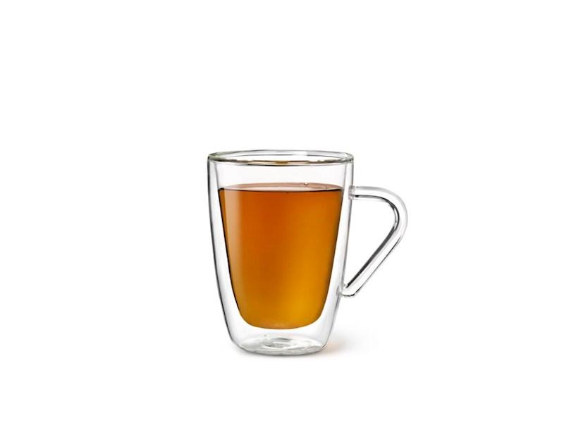Dubbelwandig glas Thee, 32cl, 2 stuks