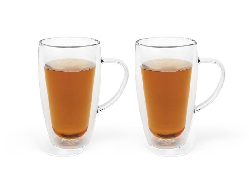 Dubbelwandig glas Koffie/Thee, 295 ml, 2 stuks