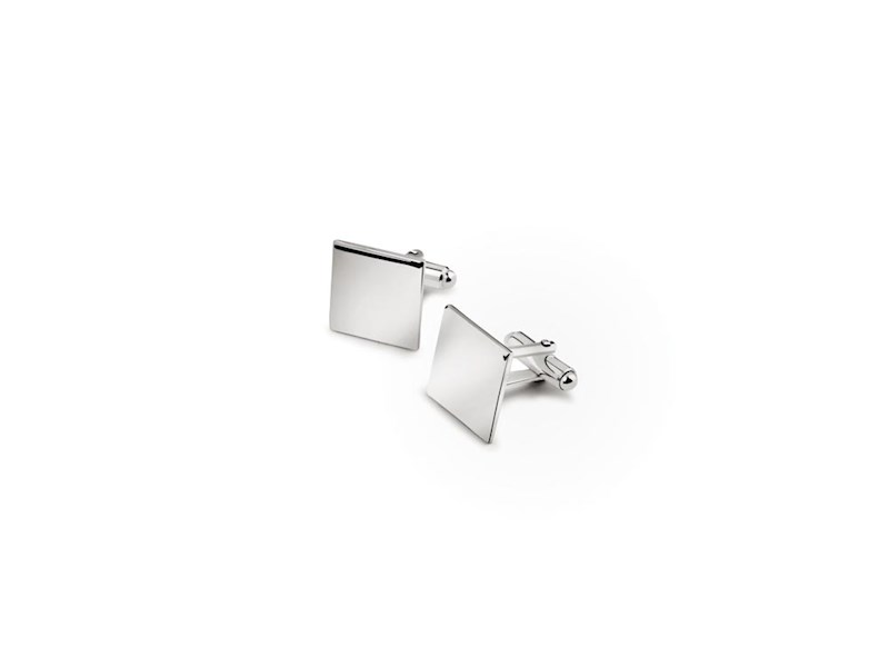 Manchetknopen vierkant (925 zilver)