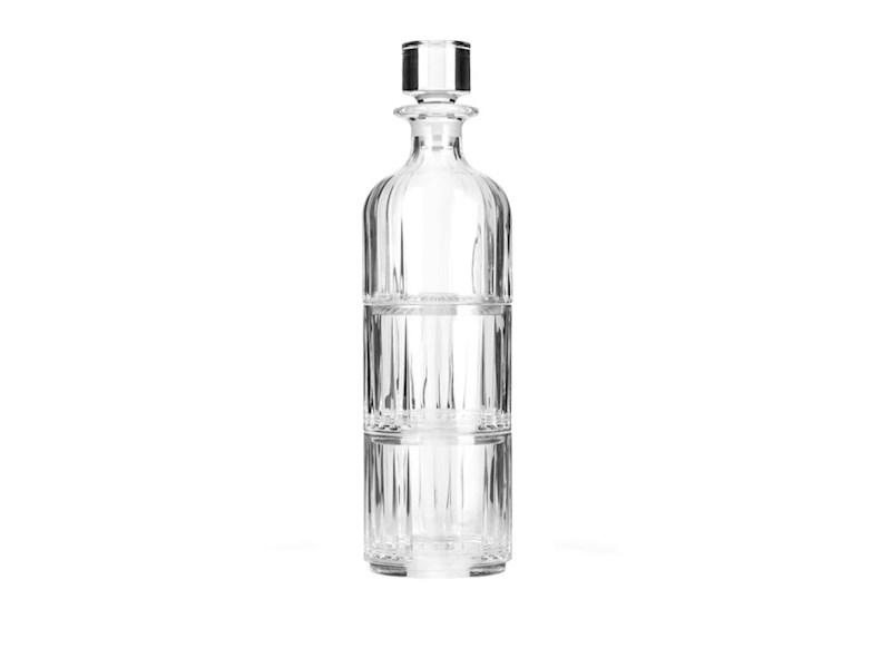 Whiskeykaraf met 2 glazen, kristal