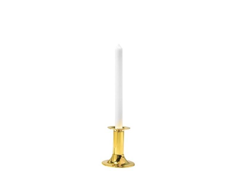 Kandelaar Tube 11 cm, goudkleurig, 2 stuks
