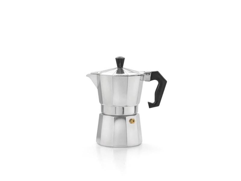Espressomaker 3 kops, aluminium
