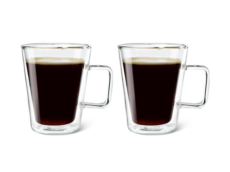 Dubbelwandig glas Milano, set van 2