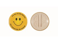 Bio button 56 mm