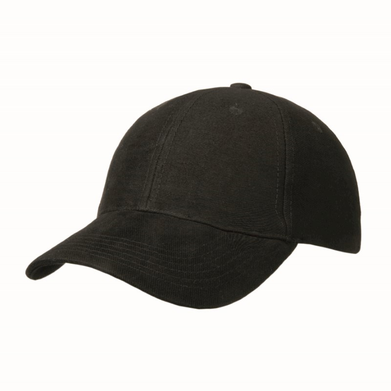 Heavy Brushed 6 Panel Cap