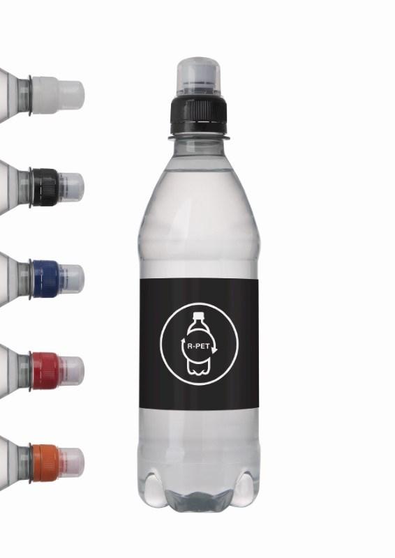 Bronwater 500 ml met sportdop