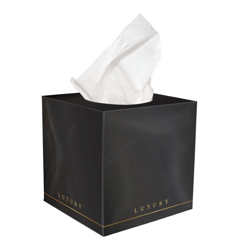 Tissue box folie druk