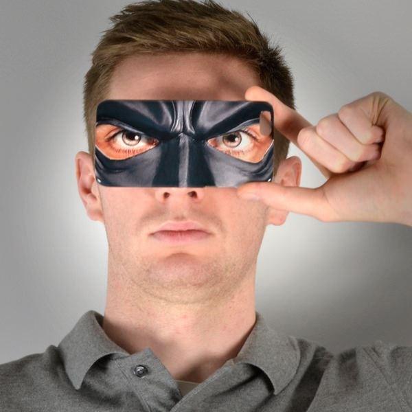Giggle Beaver Gotham Masker Telefoonhoesje