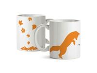 Giggle Beaver Creature Comforts Fox Mok