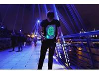 IA Interactief Glow T-shirt Super Groen - Zwart (M)