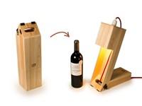 Rackpack Wine Light - Wijn box en Tafellamp