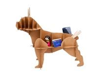Milimetrado - Franse Bulldog van Karton - Decoratief opbergrek