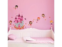 Walplus Kids Decoratie Sticker - Prinsessen Kasteel