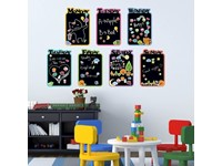 Walplus Krijtbord Decoratie Sticker - Kinder Agenda
