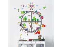 Walplus Kids Decoratie Sticker - Kinder Transport