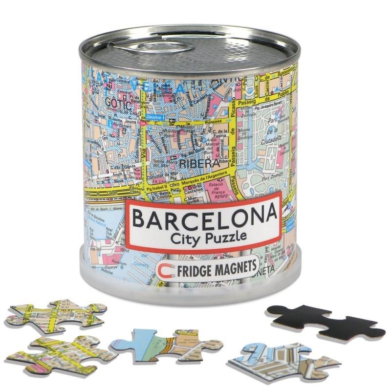 City Puzzle Magneten - Barcelona