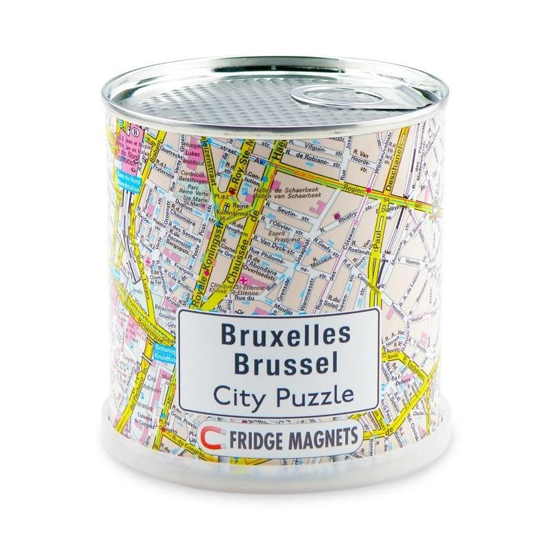 City Puzzle Magneten - Brussel