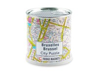 City Puzzle Magneten - Brussel